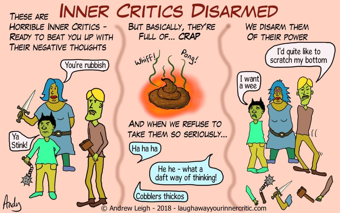 Disarm Inner Critics and negative thinking