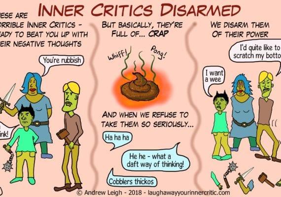Disarm Inner Critics and negative thinking