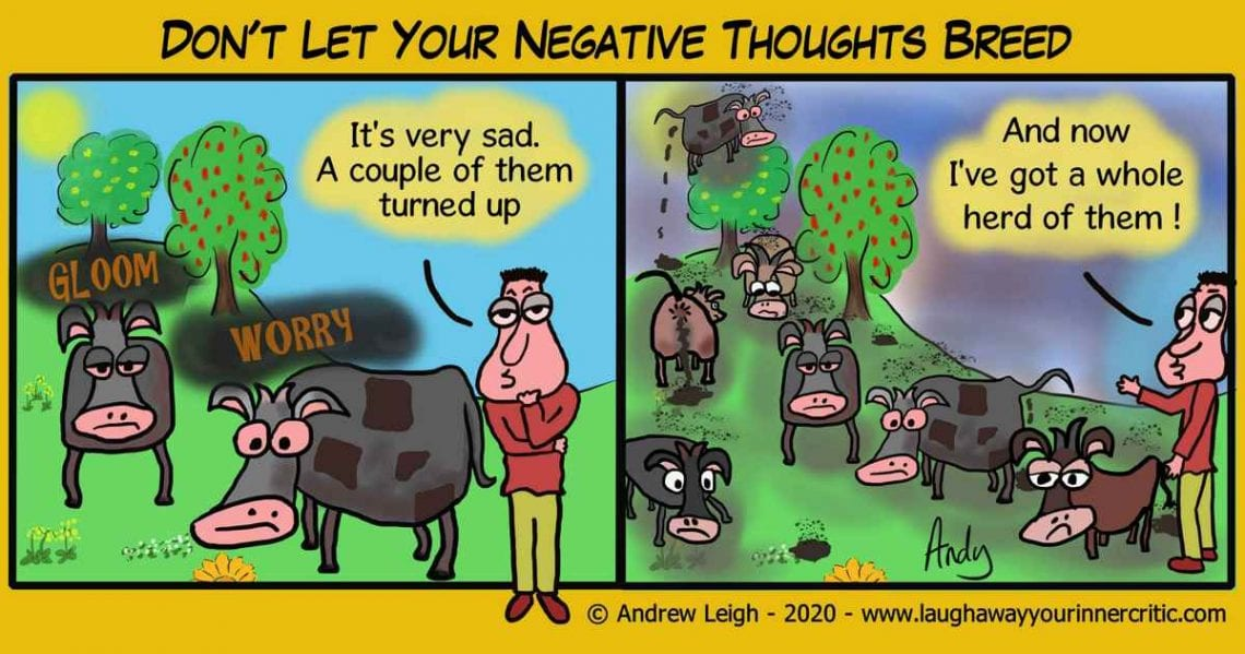 Don't Breed Negative Thoughts