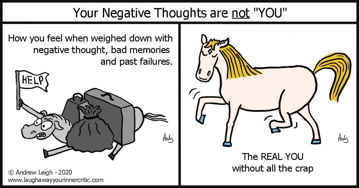 Your Negative Thoughts are not You